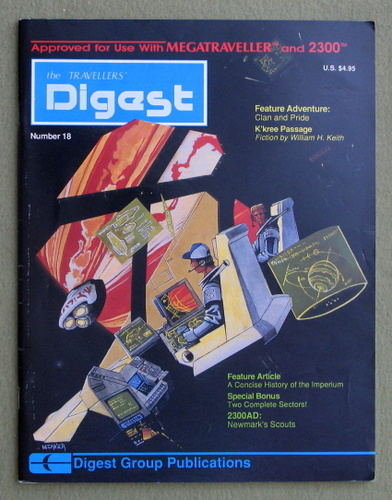 Travellers' Digest, Issue 18 (Traveller/Megatraveller)