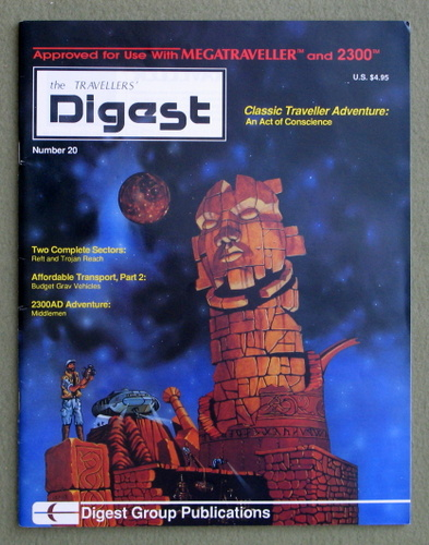 Travellers' Digest, Issue 20 (Traveller RPG)