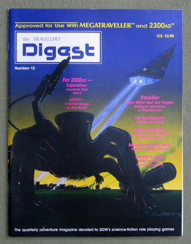 Travellers' Digest, Issue 12 (Traveller/Megatraveller)