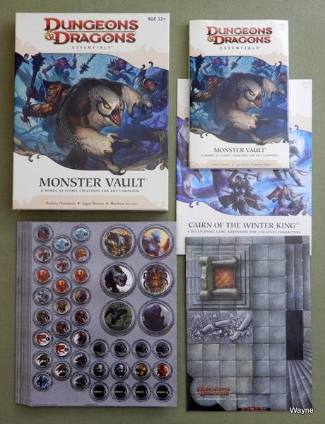 Monster Vault (Dungeons & Dragons Essentials) [BOX SET]