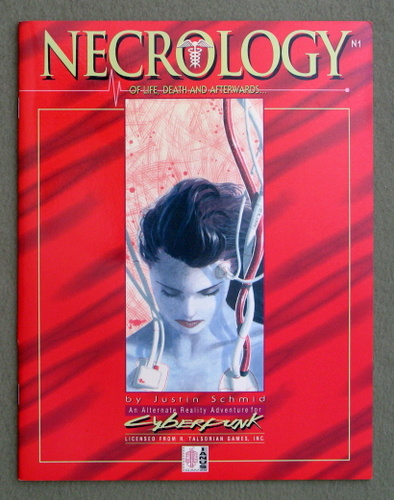 Necrology: Of Life, Death and Afterwards (An Alternate Reality Adventure for Cyberpunk), Justin Schmid