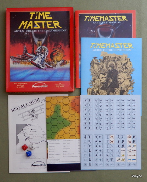 TimeMaster Roleplaying Game, Mark Acres