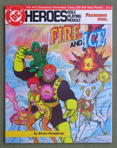 Fire and Ice (DC Heroes RPG), Bruce Humphrey