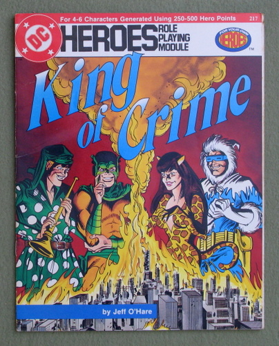 King of Crime (DC Heroes RPG), Jeff O'Hare