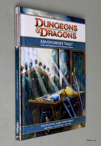 Adventurer's Vault: A 4th Edition D&D Supplement