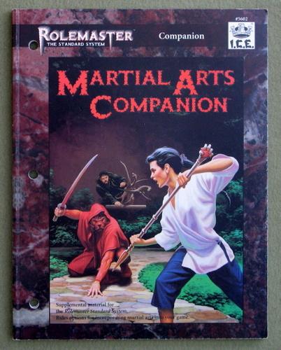 Martial Arts Companion (Rolemaster), Steve Danielson