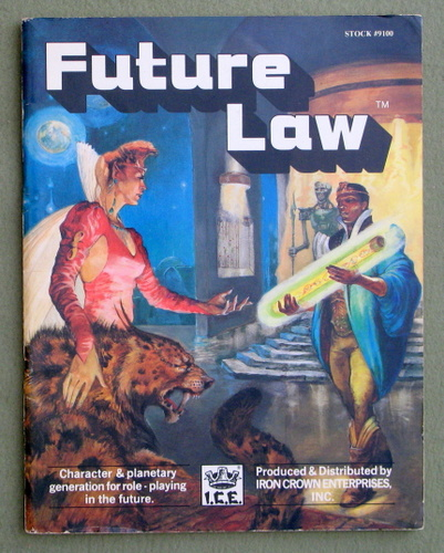 Future Law: Character & Planetary Generation for Role-Playing in the Future, Kevin Barrett