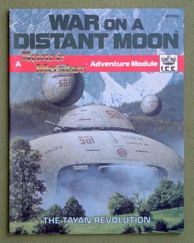 War on a Distant Moon (Space Master), Tod Foley