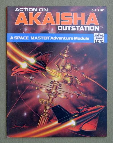 Action on Akaisha Outstation (Space Master RPG), Terry K. Amthor