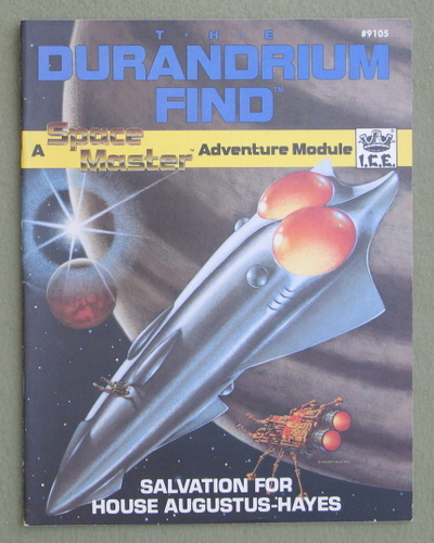 The Durandrium Find: Salvation for House Augustus-Hayes (Space Master RPG), Leo LaDell