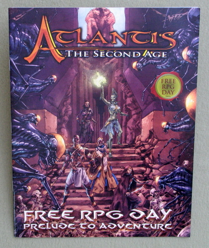 Atlantis: The Second Age - Free RPG Day 2016 - Prelude to Adventure