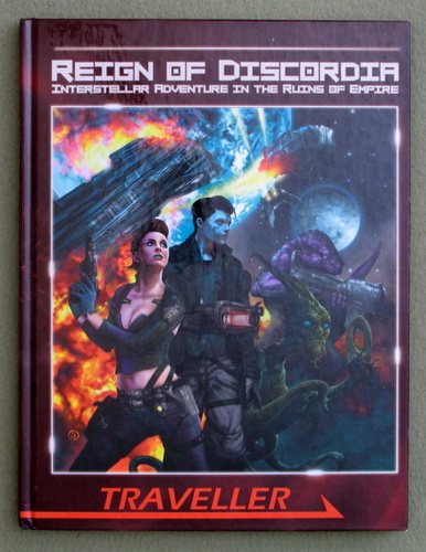 Reign of Discordia (Traveller Sci-Fi Roleplaying), Darrin Drader