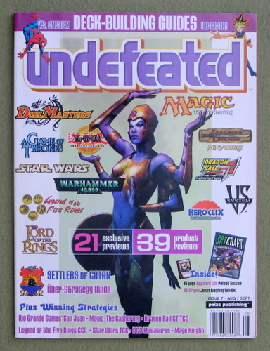 Undefeated Magazine, Issue 7 (Aug/Sept 2004)