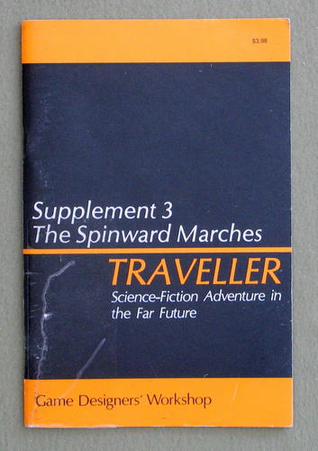 Traveller Supplement 3: The Spinward Marches - PLAY COPY