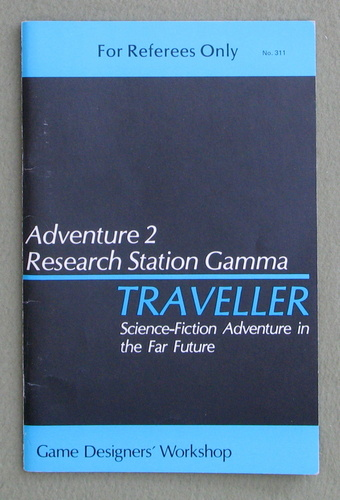 Traveller Adventure 2: Research Station Gamma, Marc Miller