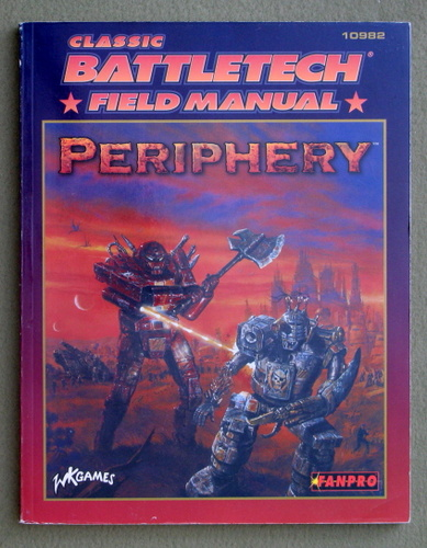 Field Manual: Periphery (Classic Battletech)