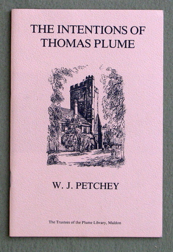 The Intentions of Thomas Plume: Based on the 1981 Plume Lecture