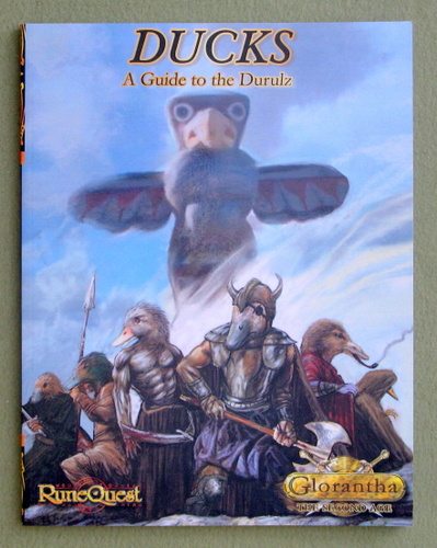 Ducks: Guide to the Durulz (RuneQuest) (Glorantha: The Second Age), Bryan Steele