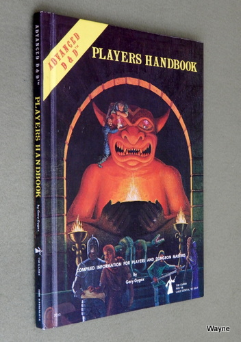 Players Handbook (Advanced Dungeons & Dragons, 1st Edition), Gary Gygax