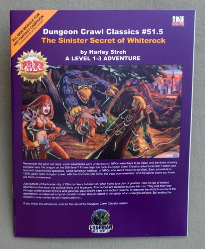 Dungeon Crawl Classics #51.5: The Sinister Secret of Whiterock, Harley Stroh