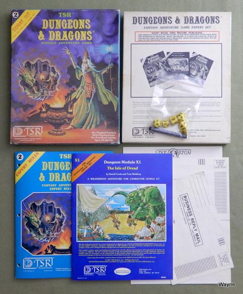 Dungeons & Dragons Expert Set, Dave Cook & Erol Otus