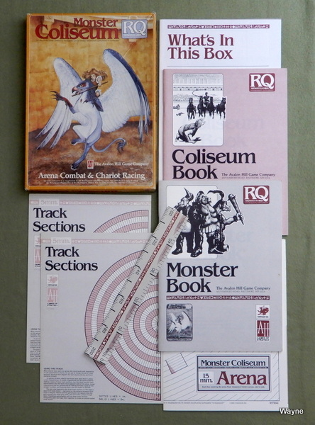 Monster Coliseum: Arena Combat & Chariot Racing (Runequest)