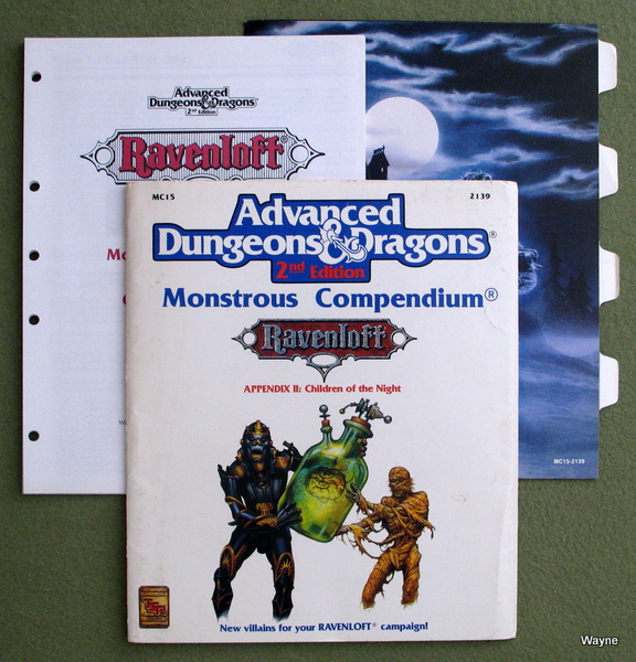 Ravenloft Monstrous Compendium Appendix II: Children of the Night (Advanced Dungeons & Dragons, 2nd Edition)