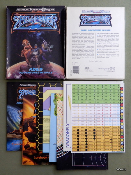 Spelljammer: Advanced Dungeons and Dragons Adventures in Space - PLAY SET, Jeff Grubb