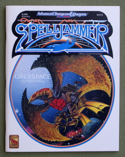 Greyspace (Advanced Dungeons & Dragons/Spelljammer Accessory SJR6), Nigel Findley