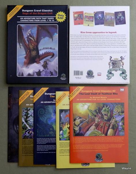 Saga of the Dragon Cult (Dungeon Crawl Classics Adventure Path)