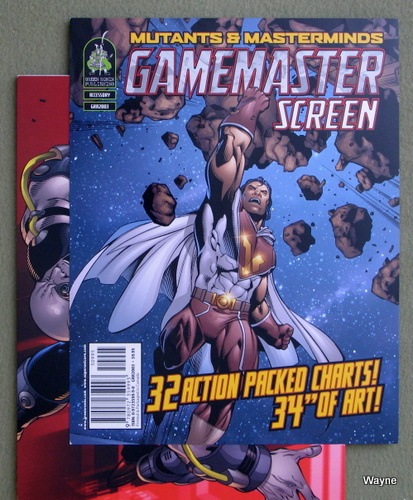 Game Master's Screen (Mutants & Masterminds, 1st Edition)