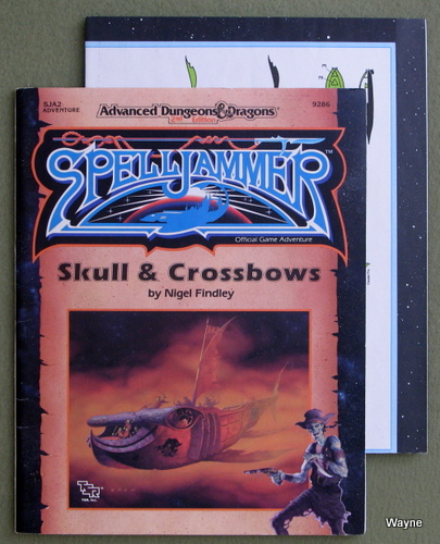 Skull and Crossbows (Advanced Dungeons & Dragons/Spelljammer Module SJA2), Nigel Findley