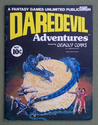 Daredevils Adventures 1: Deadly Coins, J. Andrew Keith