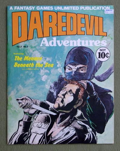 Daredevils Adventures 2: Menace Beneath the Sea, J. Andrew Keith