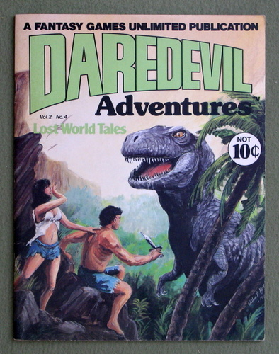 Daredevils Adventures 4: Lost Worlds Tales, J. Andrew Keith