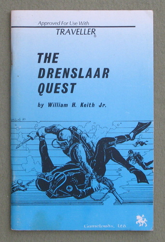 Drenslaar Quest (Traveller), William H. Keith Jr.