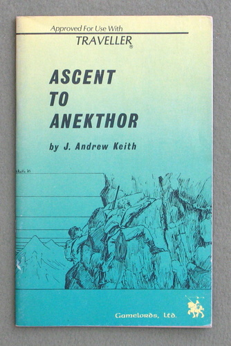 Ascent to Anekthor (Traveller), J. Andrew Keith