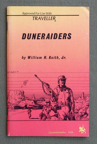 Duneraiders (Traveller), William H. Keith Jr.