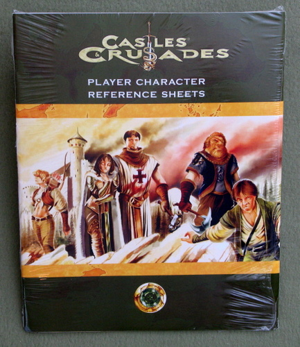 Player Character Reference Sheets (Castles & Crusades)