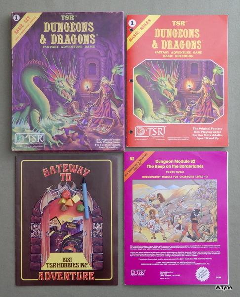 Dungeons & Dragons Basic Set, Gary Gygax & Dave Arneson & Tom Moldvay (editor)