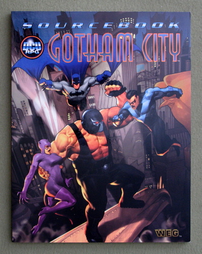 Gotham City Sourcebook (DC Universe RPG)