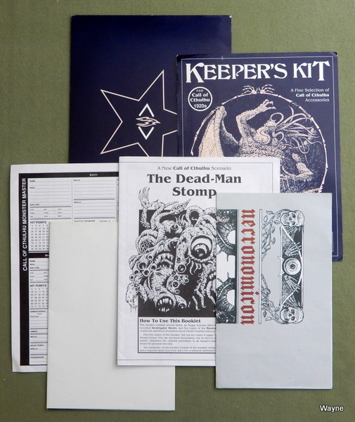 Keeper's Kit (Call of Cthulhu 1920s) - MISSING 3 PARTS
