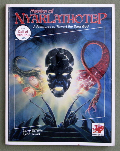 Masks of Nyarlathotep: Adventures to Thwart the Dark God (Call of Cthulhu RPG) - PLAY COPY, Larry Ditillio & Lynn Willis
