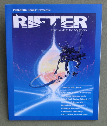 Rifter #13: Your Guide to the Megaverse (Rifts)