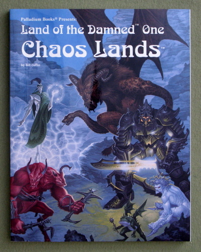 Land of the Damned One: Chaos Lands (Palladium Fantasy RPG), Bill Coffin