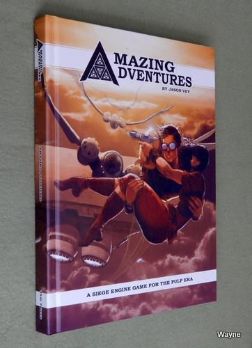 Amazing Adventures: A Siege Engine Game for the Pulp Era, Jason Vey