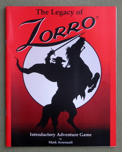 Image for The Legacy of Zorro: Introductory Adventure Game