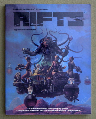 Rifts: Role-Playing Game, Kevin Siembieda