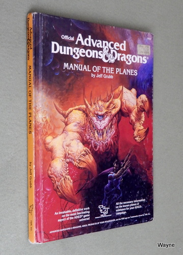 Manual of the Planes (Advanced Dungeons and Dragons) - PLAY COPY, Jeff Grubb