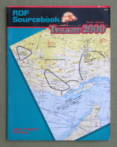 RDF Sourcebook (Twilight: 2000) - PLAY COPY, Frank Frey